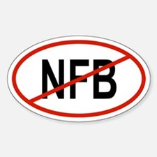 NFB Oval Decal