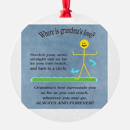 Cute Grandchild Ornament