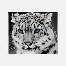 Leopardo Snow Throw Blanket
