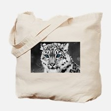 Leopardo Snow Tote Bag