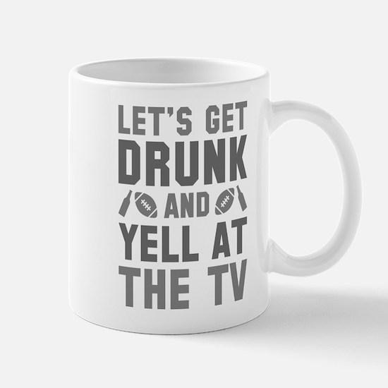 Drunk Football Mug