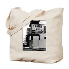 Brains, 25 cents Tote Bag
