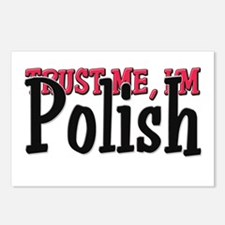 Trust Me I'm a Polish Postcards (Package of 8)