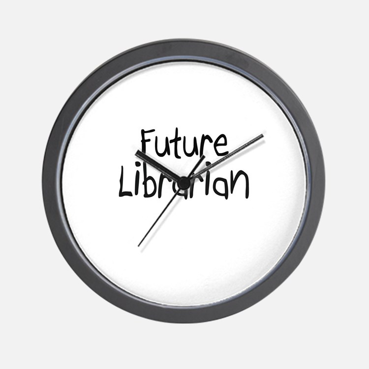 Future Librarian Wall Clock