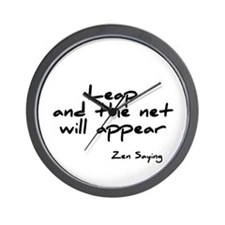 Leap and the net will appear Wall Clock