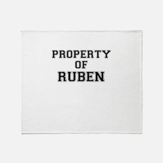 Property of RUBEN Throw Blanket