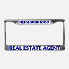 NEIGHBORHOOD (Blue) License Plate Frame