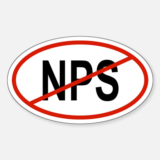 NPS Oval Decal