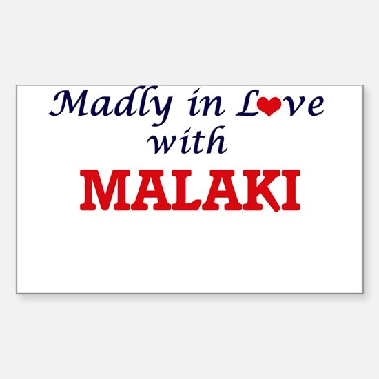 Madly in love with Malaki Decal