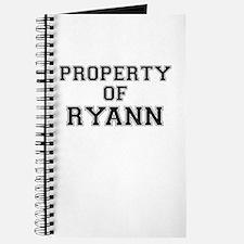 Property of RYANN Journal