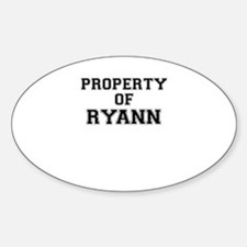 Property of RYANN Decal
