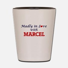 Madly in love with Marcel Shot Glass