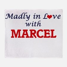 Madly in love with Marcel Throw Blanket