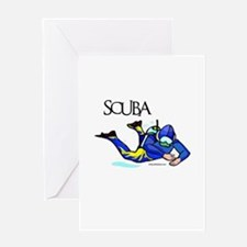 SCUBA Greeting Card