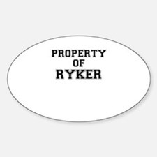 Property of RYKER Decal