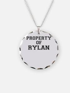 Property of RYLAN Necklace
