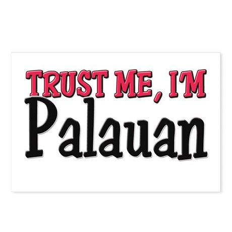 Trust Me I'm Palauan Postcards (Package of 8)