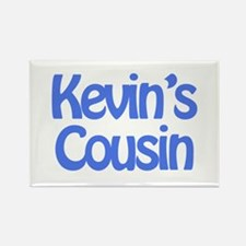 Kevin's Cousin Rectangle Magnet