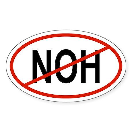 NOH Oval Sticker