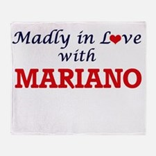 Madly in love with Mariano Throw Blanket