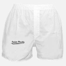 Outer Banks NC Retro Logo Boxer Shorts