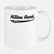 Hilton Head SC Retro Logo Mugs