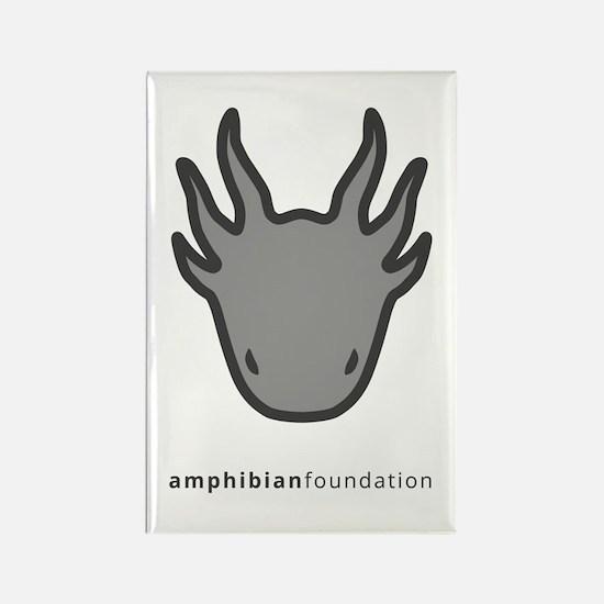 Amphibian Foundation Logo - Grey Magnets