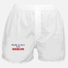 Madly in love with Marlon Boxer Shorts