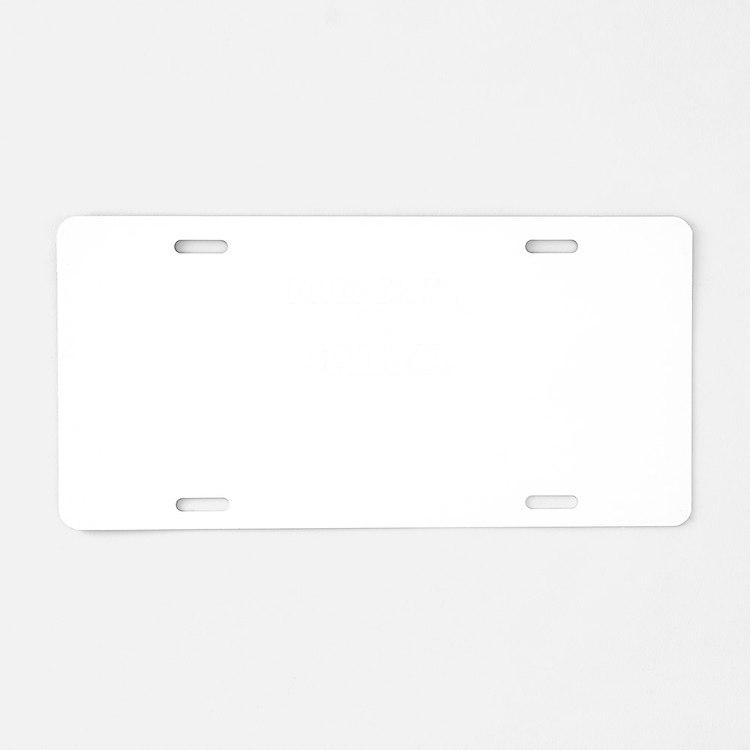Property of SALMA Aluminum License Plate