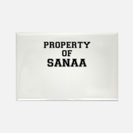Property of SANAA Magnets