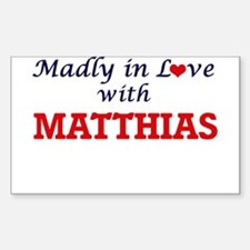 Madly in love with Matthias Decal