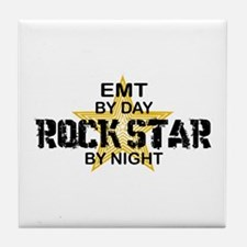 EMT RockStar by Night Tile Coaster