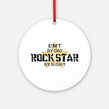 EMT RockStar by Night Ornament (Round)