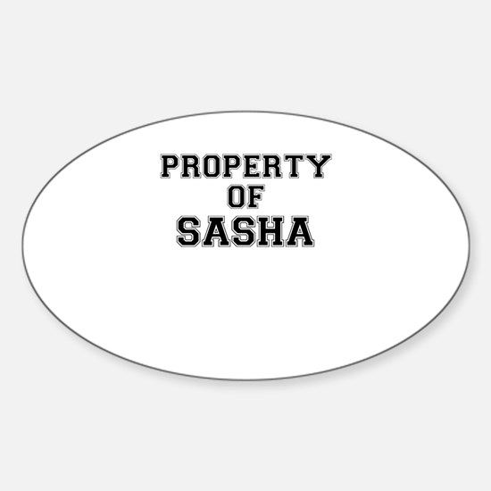 Property of SASHA Decal