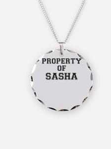 Property of SASHA Necklace