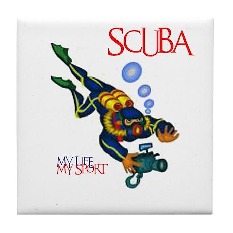 SCUBA Tile Coaster