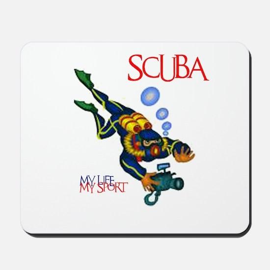 SCUBA Mousepad