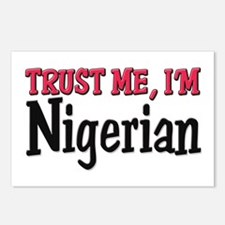 Trust Me I'm Nigerian Postcards (Package of 8)