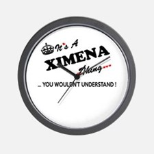 XIMENA thing, you wouldn't understand Wall Clock