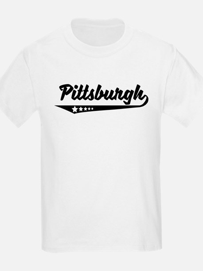 Pittsburgh PA Retro Logo T-Shirt