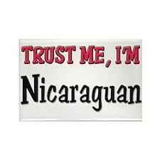 Trust Me I'm Nicaraguan Rectangle Magnet