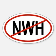 NWH Oval Decal