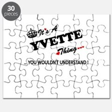 YVETTE thing, you wouldn't understand Puzzle