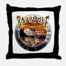 BowWulf Beowulf humor Throw Pillow