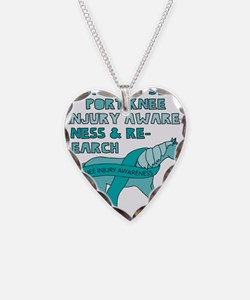 Unicorns Support Knee Injury Necklace