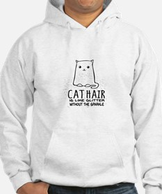 Cat Hair is like Glitter without the sparkle Sweat