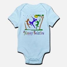 Winter Solstice Dancers Infant Bodysuit
