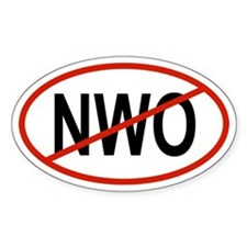 NWO Oval Decal