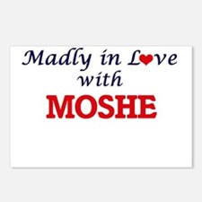 Madly in love with Moshe Postcards (Package of 8)