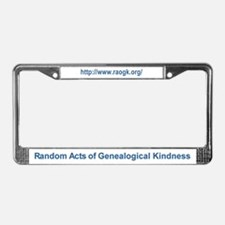 RAOGK License Plate Frame